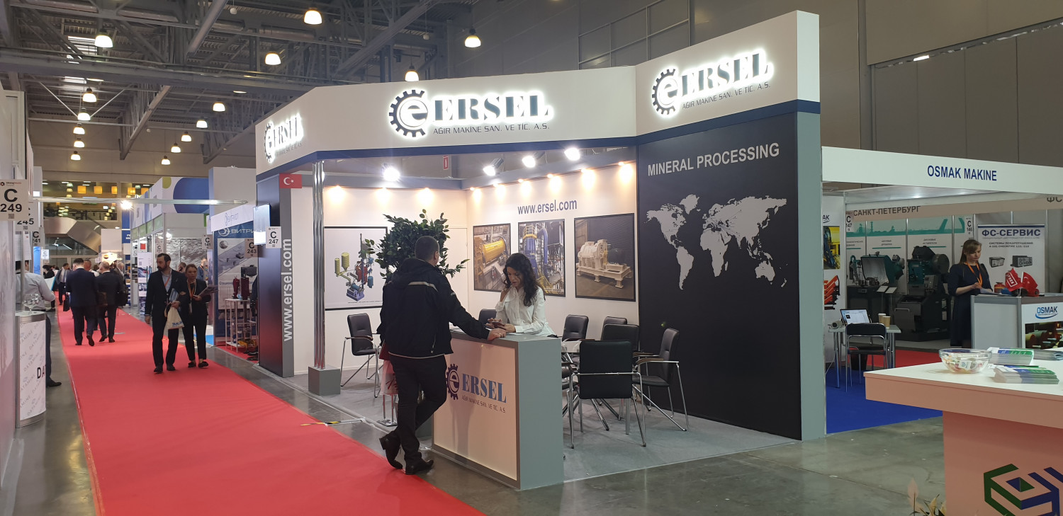 Ersel Machinery | Mining World - Moscow @2019